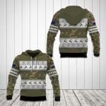 Customize New Zealand Army Camo Christmas All Over Print Hoodies
