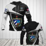 Customize Cuba Coat Of Arms - Flag V3 All Over Print Hoodies