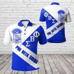 African - Phi Beta Sigma In Me All Over Print Polo Shirt