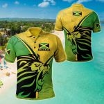 Jamaica - Jamaican Pride All Over Print Polo Shirt