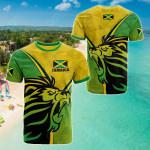 Jamaica Pride All Over Print T-shirt