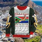South Africa Springboks Christmas Red Sweatshirt