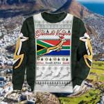 South Africa Springboks Christmas Green Sweatshirt