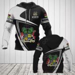 Customize Mauritius Coat Of Arms - Flag V3 All Over Print Hoodies