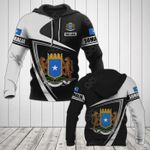 Customize Somalia Coat Of Arms - Flag V3 All Over Print Hoodies