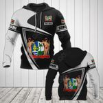Customize Suriname Coat Of Arms - Flag V3 All Over Print Hoodies