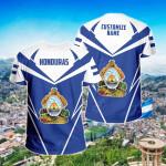 Customize Honduras New All Over Print T-shirt