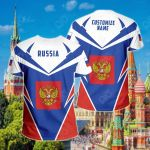 Customize Russia New All Over Print T-shirt