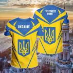 Customize Ukraine New All Over Print T-shirt