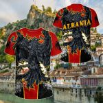 Albania Special Eagle All Over Print T-shirt