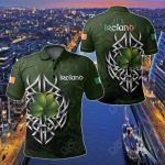 Ireland - Irish Celtic Shamrock Special All Over Print Polo Shirt