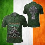 Ireland Pride All Over Print Polo Shirt