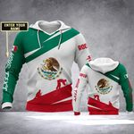 Customize Roofer Mexico All Over Print Hoodies