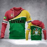 Customize Guyana Special All Over Print Hoodies