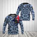 Royal Australian Navy Camo All Over Print Hoodies
