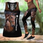 Love Horse Hollow Tank Top Or Legging