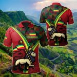 Ethiopia - Ethiopian Pride All Over Print Polo Shirt
