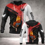 Rooster All Over Print Hoodies