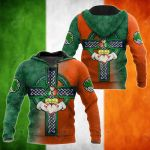 Irish Celtic Cross Special All Over Print Shirts