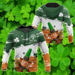 Ireland - Irish Patrick Day All Over Print Shirts