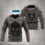 Customize German Empire All Over Print Hoodies
