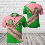African - Alpha Kappa Alpha In Me All Over Print Polo Shirt