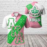 African - Alpha Kappa Alpha All Over Print Polo Shirt
