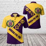 African - Omega Psi Phi In Me All Over Print Polo Shirt