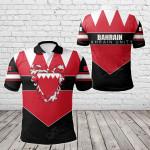 Bahrain Unity Style All Over Print Polo Shirt