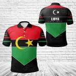 Libya Unity Style All Over Print Polo Shirt