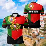 Portugal Unity Style All Over Print Polo Shirt