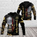 Customize December Spartan Lion Warrior All Over Print Shirts