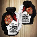 Firefighter - Jesus All Over Print Hoodies