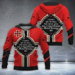 Knight Templar New All Over Print Hoodies