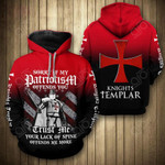 Knight Special Style All Over Print Hoodies
