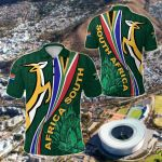 South Africa Springboks Rugby Be Unique - Green All Over Print Polo Shirt