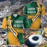 South Africa Springboks Rugby Be Fancy All Over Print Polo Shirt