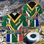 South Africa Springboks Rugby Be Proud All Over Print Polo Shirt