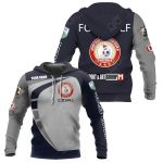 Customize Footgolf - Slovenia (Custom) All Over Print Pullover Hoodie