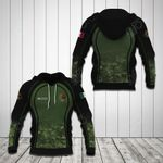 Custom Name Mexico Coat Of Arms Camo All Over Print Shirts