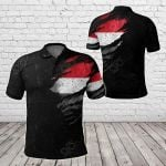 Yemen In Me - Special Grunge Style All Over Print Polo Shirt