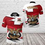 Yemen Special Version All Over Print Polo Shirt