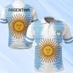 Argentina New Release All Over Print Polo Shirt