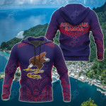 American Samoa Polynesian Athletics Style All Over Print Hoodies