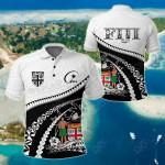 Fiji Road To Hometown All Over Print Polo Shirt