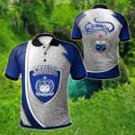 Samoa Pride All Over Print Polo Shirt