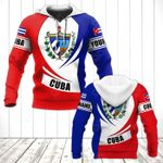 Customize Cuba Coat Of Arms Flag - New Form All Over Print Hoodies