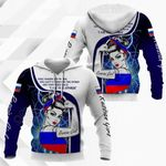 Russian Girl All Over Print Hoodies