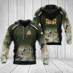 Customize Luxembourg Army All Over Print Hoodies