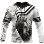 White Horse All Over Print Shirts